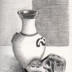 Vase-sten