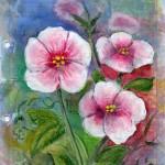 Blomster og blade lil